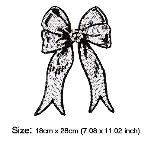 Buy sequin bow appliques