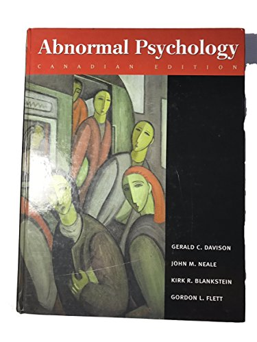 Abnormal Psychology, Canadian Edition