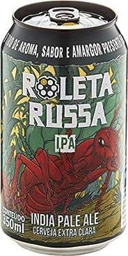 Cerveja Roleta Russa Ipa 350 ml Roleta Russa 350 Ml
