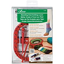 Clover Standing Oval Knitting Loom, One Size