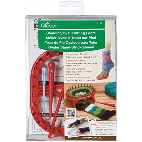 CLOVER Standing Oval Knitting Loom One Size