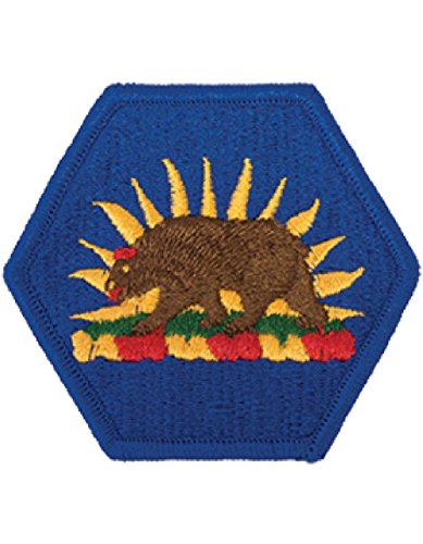 (California National Guard Full Color Dress Patch)