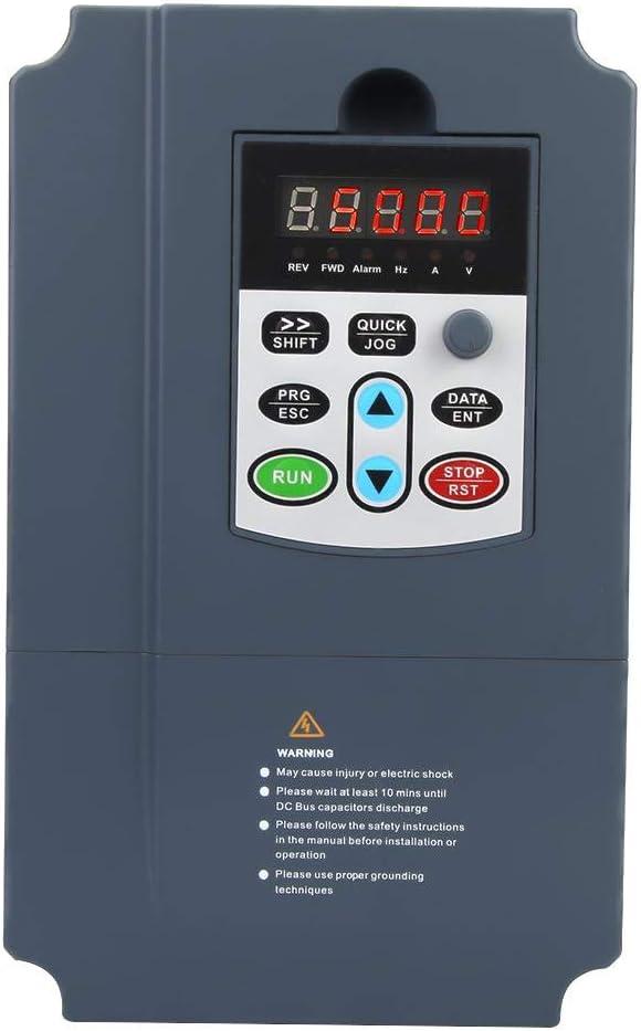 VFD Inverter 3Phase 380VAC 7.5KW Heavy Duty VFD Inverter Vector Control Motor Drive Speed Controller
