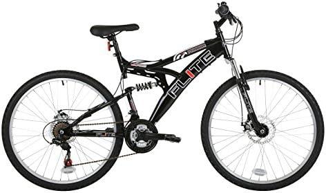 Flite FL053 - Bicicleta de montaña con doble suspensión (rueda 26 pulgadas, marco 18 pulgadas), versión importada de Reino Unido: Amazon.es: Deportes y aire libre