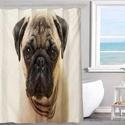MKOK Printed Shower Curtain 72