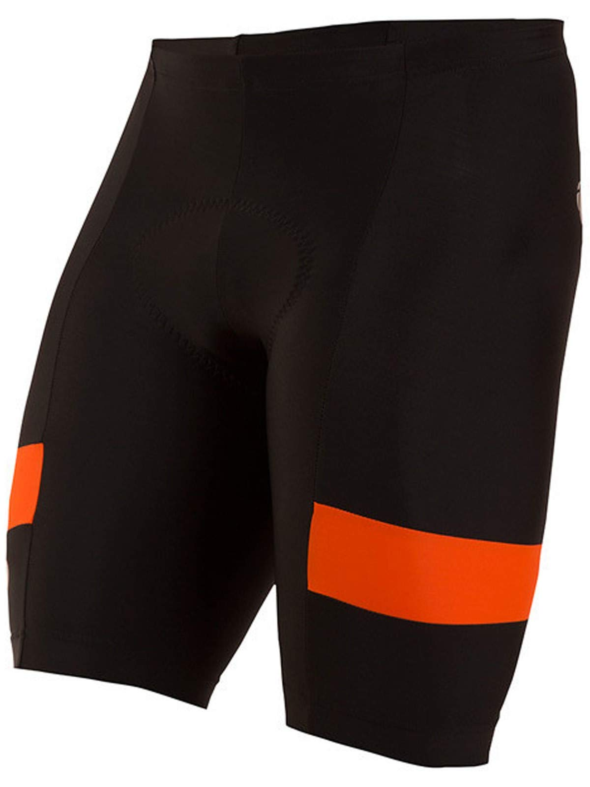 Pearl iZUMi Men's Escape Quest Splice Shorts, Black/Orange Comb, X-Large by Pearl iZUMi (Image #1)