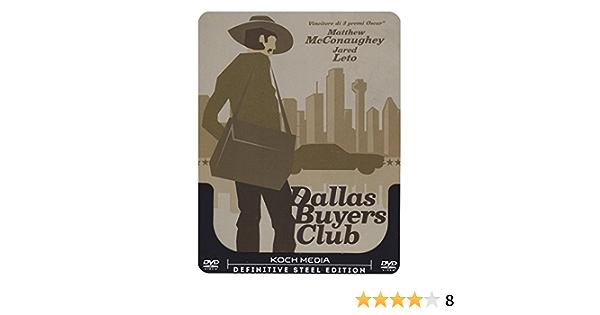 Dallas Buyers Club (steelbook) [Italia] [DVD]: Amazon.es ...