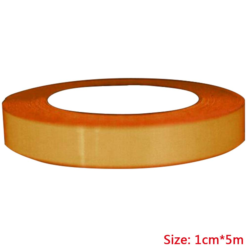 Refaxi Luminous Tape Self-adhesive Tape/Film Sticker, Self Luminous Tape, Fluorescent Adhesive Tape Stage Home Decor Waterproof Super Bright(Orange,1CM5M)