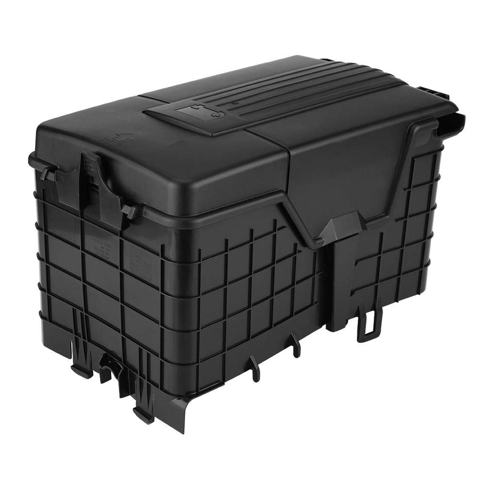 Battery Dust Cover, Car Battery Cover Dust Protection Box for Passat B6 Golf MK5 MK6 Seat Leon A3 1KD915335 by Dweekiy