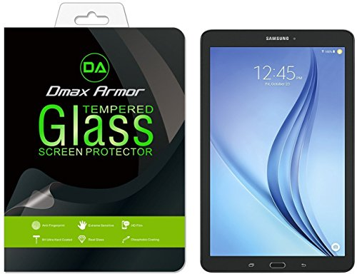 Samsung-Galaxy-Tab-E-96-inch-Screen-protector-Dmax-Armor-Tempered-Glass-03mm-9H-Hardness-Anti-Scratch-Anti-Fingerprint-Bubble-Free-Ultra-clear