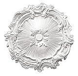 Designer's Edge Millwork DEM-518 Decorative Ceiling Medallion 16-3/4'' Diameter X 1-3/8'' Projection