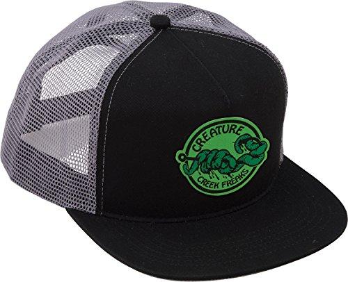 Creature Skateboards Freaks Black Mesh Trucker Hat - Adjustable