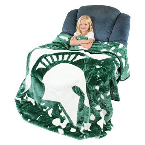 College Covers Michigan State Spartans Throw Blanket/Bedspread
