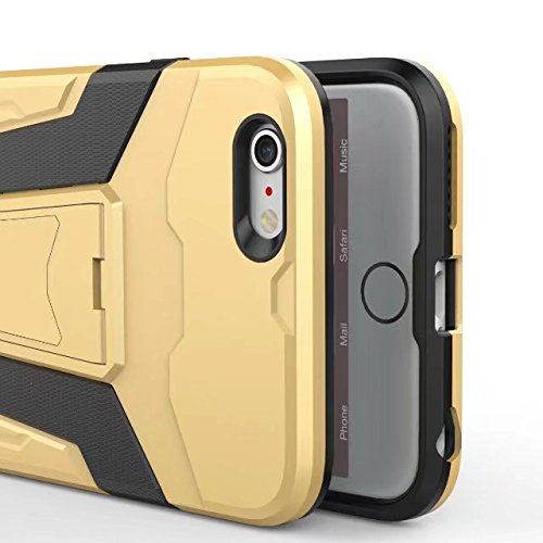 JIALUN-carcasa de telefono Cubierta trasera extraíble con la caja del teléfono móvil para IPhone 6 más y 6s más ( Color : Red ) Green
