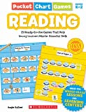 Pocket Chart Games: Reading, Angie Kutzer, 0545280753