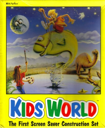 "Kids World: Screen Saver Construction Set [Macintosh ~ 3.5"" Disks]"