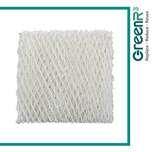 GreenR3 1-PACK Wick Filters Humidifiers for Kenmore 14804 fits Honeywell HAC-500 Sears Kenmore 14804 14121 Duracraft AC-818 DH8000 DH813 DH-4C Hunter 32500 White-Westinghouse WWHM-8002 AC818 and more by GreenR3