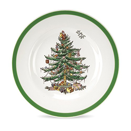 Spode Christmas Tree Bread and Butter Plate (China Bread Plate)