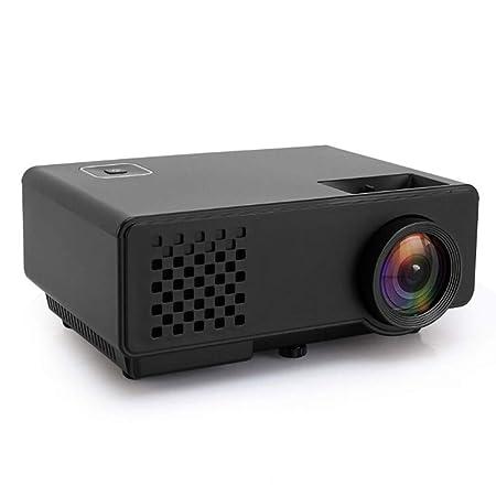 TBYGG proyector Cine en casa Full HD,RD-810 800 768 * 1200 lúmenes ...