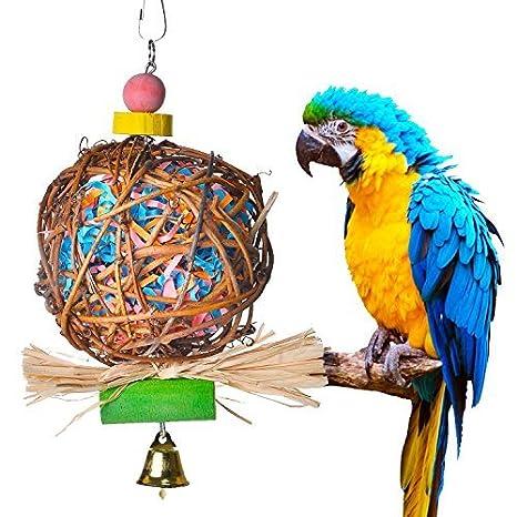Tian Ran Dai - Jaula de pájaros, tamaño Mediano, pequeña, para ...