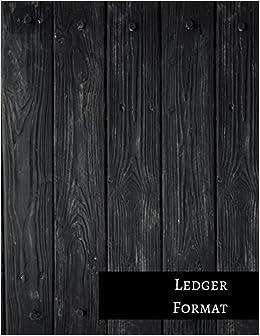 Ledger Format: Three Columnar Format