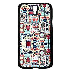 lintao diy Blue Red and Dark Blue Pattern Aztec Hard Snap on Phone Case (Galaxy s4 IV)