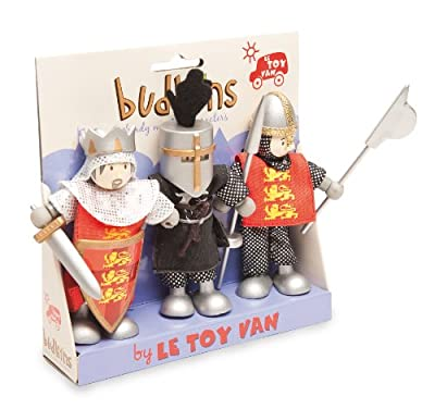 Budkins Set of 3 Crusader Figures by Budkins
