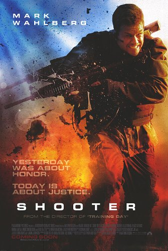 Shooter Version B Movie Poster Double Sided Original 27x40