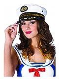 Sequin Trimmed Captain's Hat