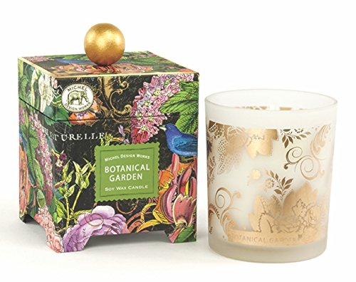 Michel Design Works Gift Boxed Soy Wax Candle, 14-Ounce, Botanical Garden