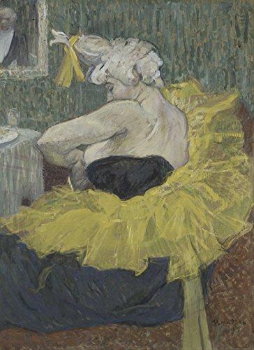 Henri Toulouse Lautrec - The Clown Cha-U-Kao - Small - Semi Gloss - Unframed Vintage Wall Art Poster Picture Giclee Artwork Modern Contemporary & Fine Art Print ()