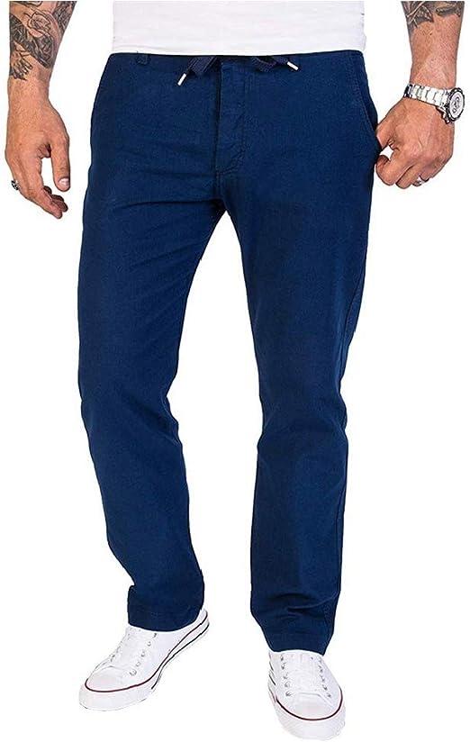 VITryst メンズ ソリッドカラーミッドライズ ポケット カジュアル スポーティ シフト パンツ パンツ