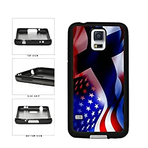 diy phone caseFinland and USA Mixed Flag TPU RUBBER SILICONE Phone Case Back Cover Samsung Galaxy S5 I9600diy phone case