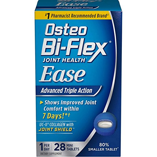 Tabs Action (Osteo Bi-Flex Joint Health Ease Triple Action, 28 Mini-Tabs (Pack of 2))