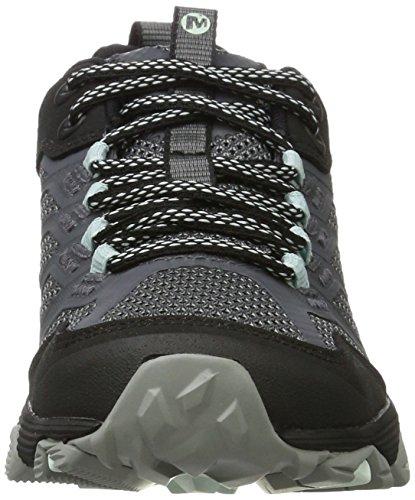 Senderismo Moab GTX Granite Negro para Zapatillas Mujer de Merrell Fst xXqUdOq4