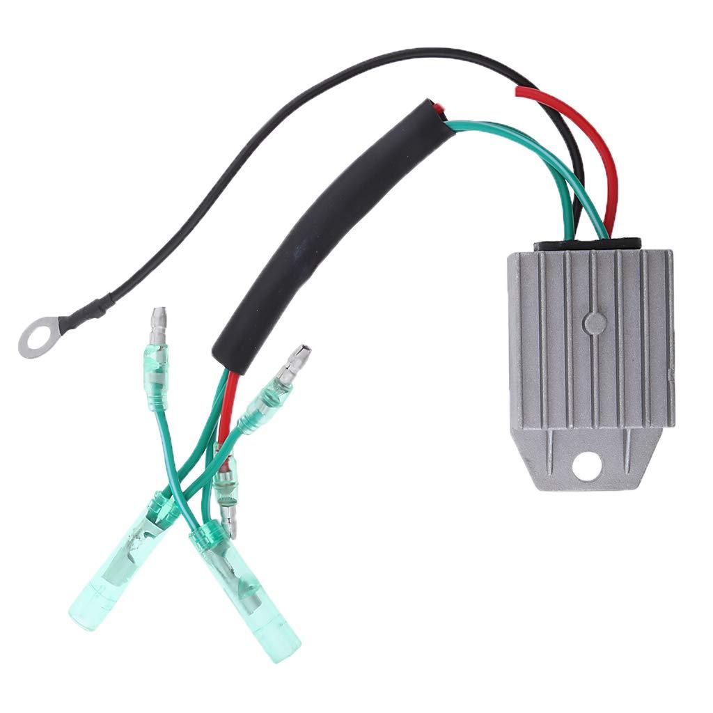 Baosity Heavy Duty Outboard Voltage Regulator Rectifier For Yamaha 4 Stroke Wiring 99hp