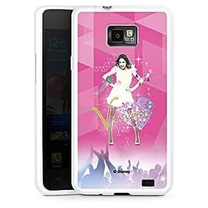 Samsung Galaxy S2Funda Premium Case Protección cover Disney Violetta Fan Artículo Regalos