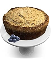 Andy Anand Original Blueberry Cheese Coffee Cake, Made Fresh, Preservative Free, Amazing-Delicious-Decadent Gift Box With Greeting Card, Birthday, Valentine, Christmas, Mothers Fathers Day (2.7 lbs)