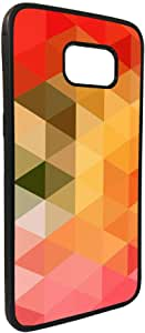 Color Triangles Printed Case for Galaxy Note 5