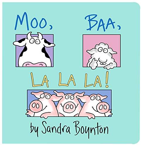 Moo Baa La La La Board book – November 30, 1982