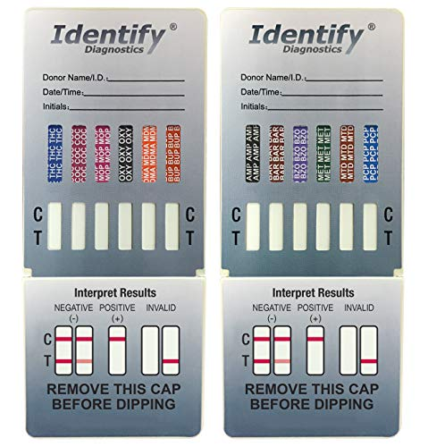 Percocet Drug Test - 5 Pack Identify Diagnostics 12 Panel