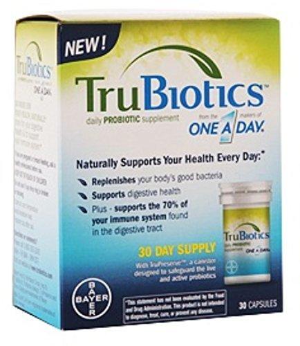 TruBiotics Daily Probiotic Supplement Capsules 30 Capsules (Pack of 2)