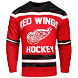 FOCO Detroit Red Wings Ugly Glow In The Dark Sweater - Mens - Mens Double Extra Large