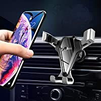 HULPPRE Cell Phone Holder for Car With Stronger Vent Clip Universal Mobile Phone Stand Holder Easy Installation Hands…
