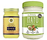 Primal Kitchen Avocado Oil Mayo & 8 oz Ancient Organics Grass-fed Ghee