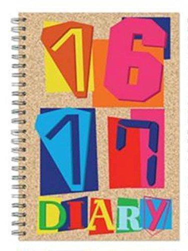 Agenda escolar de espiral, tamaño A5, semana vista, beige ...
