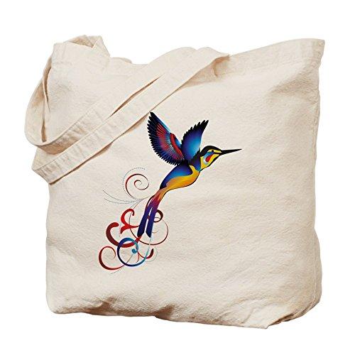 CafePress Colorful Hummingbird Tote Bag - Standard Multi-color by CafePress