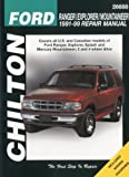 Ford Ranger, Explorer, and Mountainer, 1991-99 (Chilton's Total Car Care Repair Manual) by Chilton (1999) Paperback