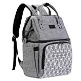 AmHoo Insulated Lunch Box Cooler Backpack Waterproof Leak-proof Lunch Bag Tote For Men Women,Hiking/Beach/Picnic/Trip with Strongest YKK Zipper (Grey)
