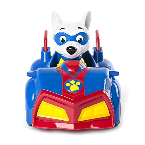 Mini Vehicle and Figure of Paw Patrol with Real Working Wheels, Greate Gift for Kids …